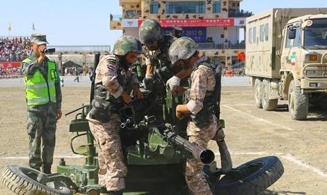 تیمهای توپخانه سپاه و پهپاد ارتش در رقابت با نظامیان جهان «سوم» شدند