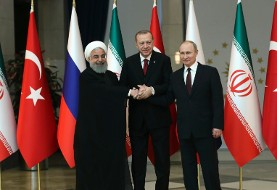 New Anti-US Alliance? Iran, Russia, Turkey presidents meet in Tehran summit