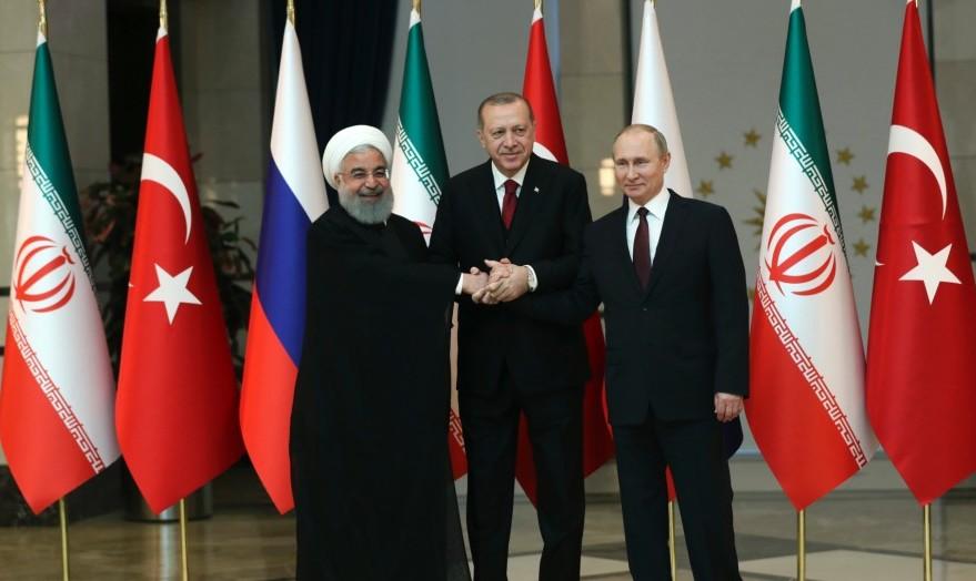 New Anti-US Alliance? Iran, Russia, Turkey presidents meet in Tehran summit