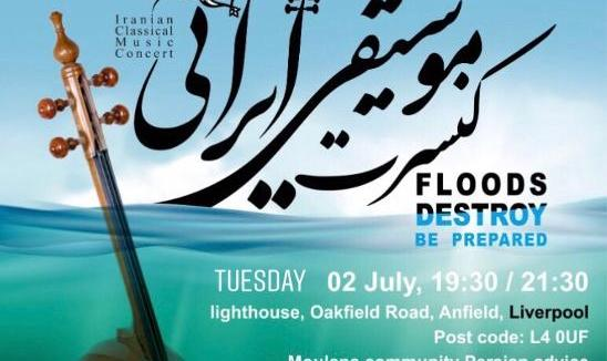 Iranian Traditional Music Concert to Benefit Flood Victims