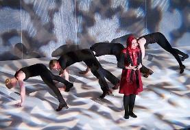 رقص و نمایش بر اساس کتاب مارینا نعمت: زندانی تهران
