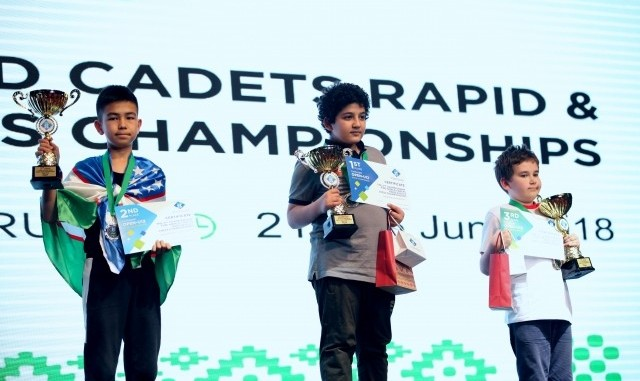 Young Iranians win Gold and Silver at the FIDE World Chess ...