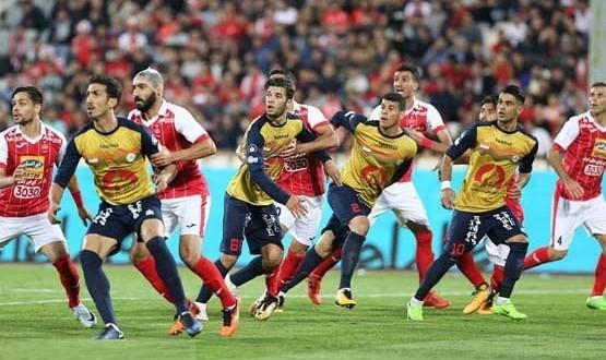 پیروزی پرسپولیس بر نفت و صعود به یک هشتم نهایی جام حذفی فوتبال ایران