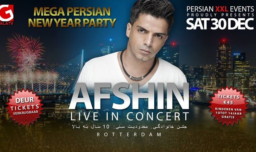 Mega New Year Party - Afshin Live in Concert
