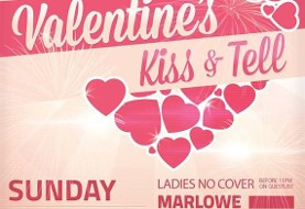 KISS & TELL - Valentine's Party