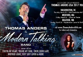 Thomas Anders and Modern Talking Band in Washington, D.C.