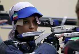 الهه احمدی زن تیرانداز ایرانی در مسابقه غیررسمی رکورد جهان را شکست