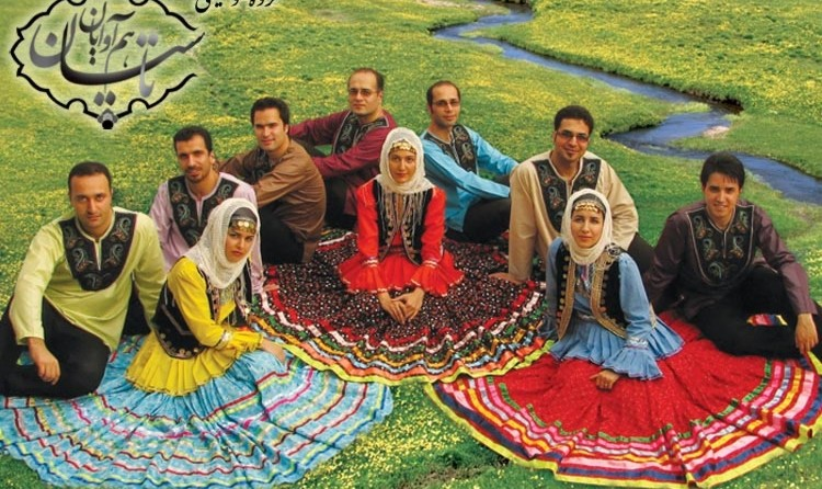 Folk Music Concert by Tasian Group in Rasht