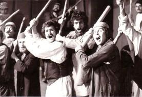 دیدار گروهی در مورد نمایشنامه چوب به دستهای ورزیل