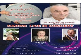 Maestro Ahmad Nadimi, The Sound Healer and Composer, Live in Concert