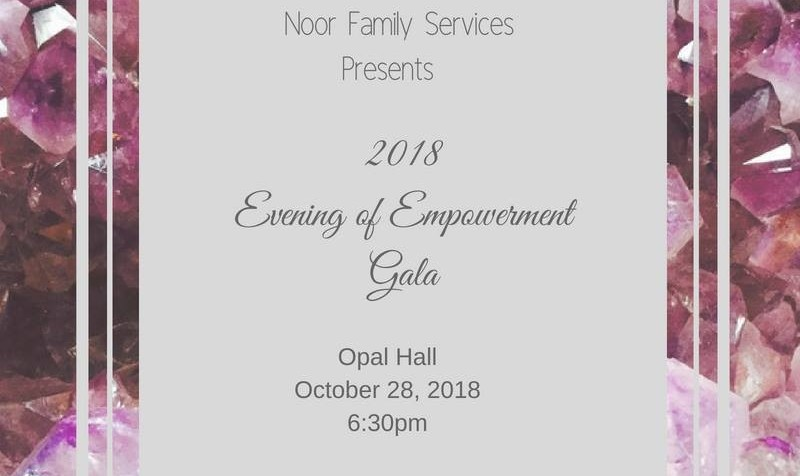 Empowerment Gala by Noor, Helping Victims of Domestic Violence