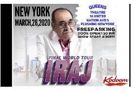 This Nowruz Honoring Maestro Iraj in New York