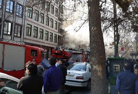 Fire in upscale Tehran neighborhood of Zafar, 50 Rescued