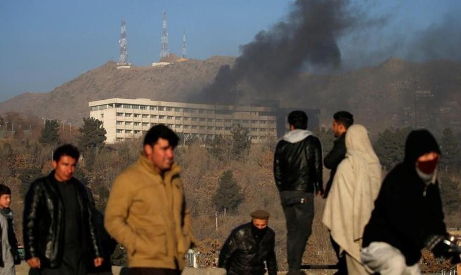 حمام خون در حمله طالبان به هتل ۵ ستاره «اینترکنتیننتال» در کابل: ۱۸ کشته