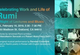 Lecture and Music on Rumi with Abdulkarim Soroush, Robert Darr and Music by Bamdad Ensemble