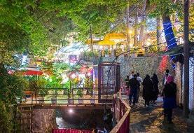 تمام مراکز تفریحی دربند و درکه تهران به خاطر خطر سیل، ۴۸ ساعت تعطیل است