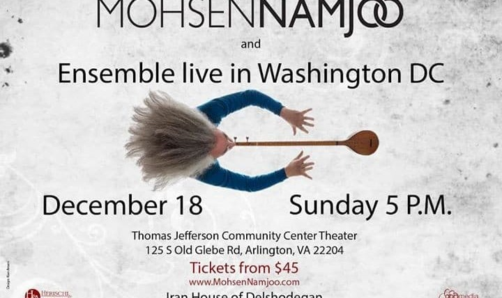 Mohsen Namjoo and Ensemble Concert in Washington DC