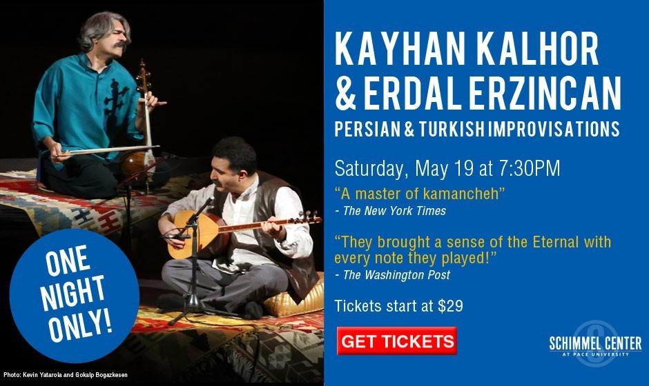 کنسرت بزرگ بهاری استاد کیهان کلهر و اردال ارزینکان: بداهه نوازی ایرانی و ترکی