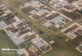 سیلاب بیخ گوش اهواز: تاکنون آب وارد شهر اهواز نشده است