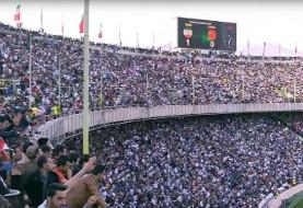 وحشت چینی ها از غرش وحشتناک وایکینگی ۱۰۰ هزار تماشاگر ایرانی در استادیوم آزادی (ویدئو)