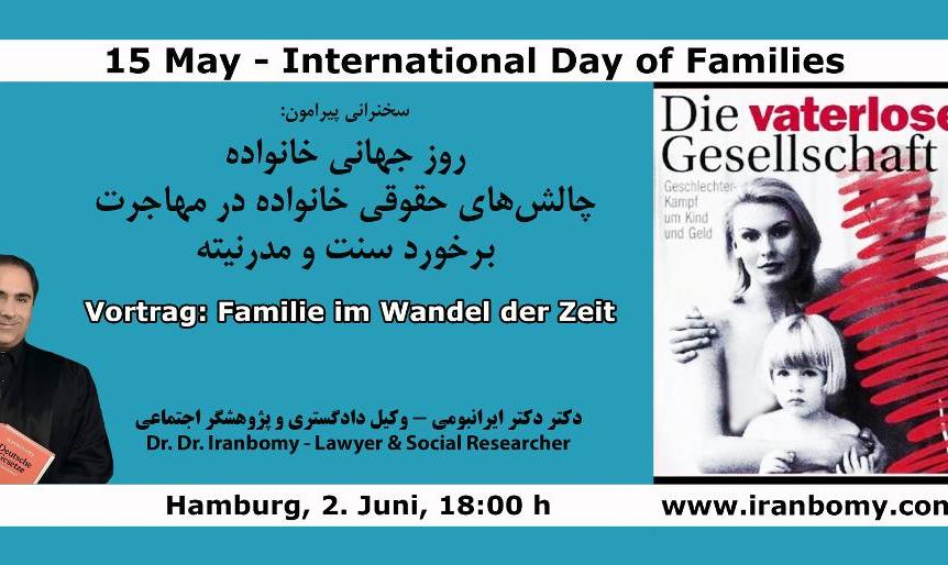 Dr. Dr. Iranbomy, Rechtsanwalt, Seminar: International Day of Families