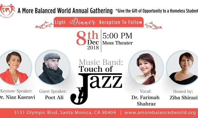 Ziba Shirazi and Niaz Kasravi: A More Balanced World Annual Gathering
