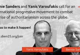 BREAKING NEWS: Sanders, Varoufakis Form Progressives International to Resist Spread of Fascism Globally