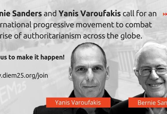 BREAKING NEWS: Sanders, Varoufakis Form Progressives International ...