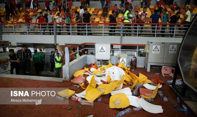 تبرئه شدن طالقانی، بهاروند و فتاحی در پی بروز حوادث مسابقه فینال جام حذفی بین پرسپولیس و داماش