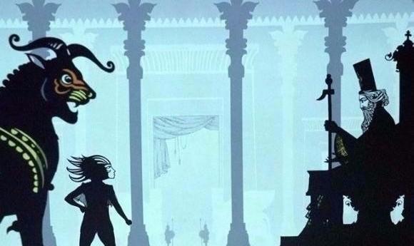پرهاى آتشين: تئاتر سایه عروسکی بر اساس داستان حماسی زال و رودابه از شاهنامه
