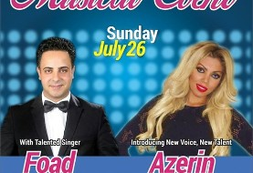 Foad and Azerin and DJ Touch: Iranian Live Musical