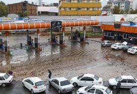(تصاویر) در سالگرد اعتراضات آبان: هک شدن تابلوهای شهری و تابلوهای پمپ بنزین در اصفهان/ قطع ناگهانی توزیع بنزین