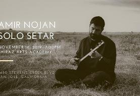 Amir Nojan: Solo Setar