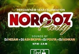 Norouz ۱۳۹۶ Party with DJ Hesam, DJ Ash Bkspin, DJ Pouya and DJ Ashkan