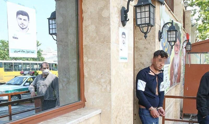 اولین تصاویر: افراد  مسلح افسر نیروی انتظامی را در شهرک قدس به قتل رساندند