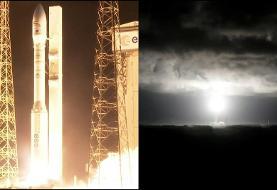 انتشار ویدئوی پرتاب ناموفق موشک ماهواره بر