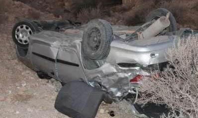 واژگونی خودروی حامل قاچاق انسان در سیستان و بلوچستان: ۲نفر کشته شدند