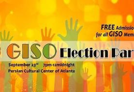 Georgia Iranian Students Organization (GISO) Election Party!