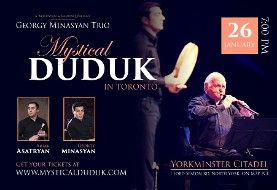 Mystical Duduk In Toronto with Georgy Minasyan