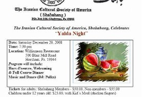 Yalda Night in Philadelphia