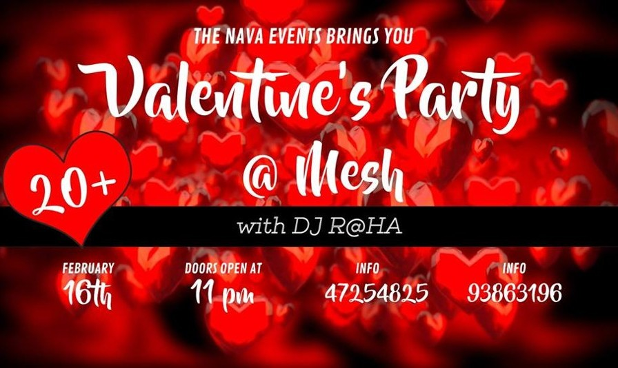 Persian Valentine Party with DJ RaHa