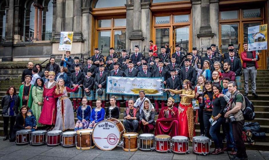 Persian Parade in Edinburgh, Scotland! A Passion for Culture and ...