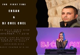 Persian Night with Ehsan and DJ Chel Chel