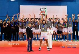 جوانان ایران با شکست ایتالیا تاریخ ساز و قهرمان والیبال جهان شدند: ...