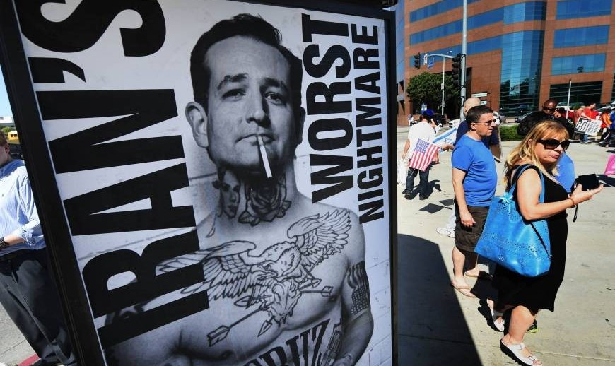 Cruz Calls Himself Iran's Worst Nightmare, Defends Israel, ...
