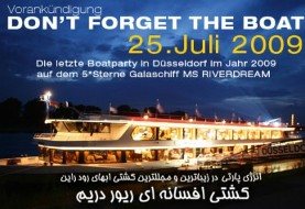 Boat Party in Dusseldorf