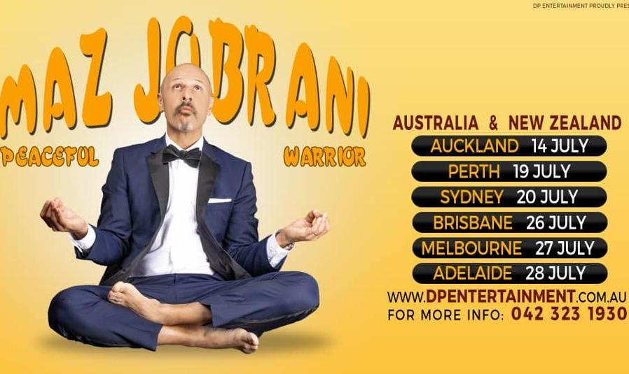 Maz Jobrani Comedy: Peaceful Warrior