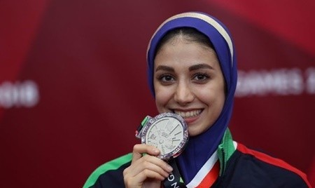 مرجان سلحشوری:نخستین بانوی مدال آور ایران در جاکارتا