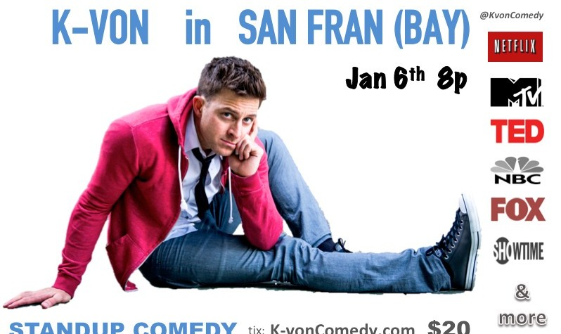 K-von Bay Area Comedy Night: The Most Famous Half-Persian Comedian!