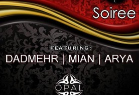 Persian Party Valentine Soiree Red & Black